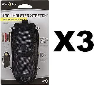 Nite Ize Tool Holster Stretch Universal Multi-Tool/Flashlight Holder (3-Pack)