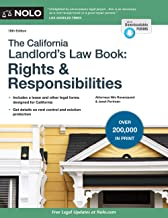 California Landlord's Law Book, The: Rights & Responsibilities PDF