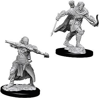WizKids Pathfinder Deep Cuts Unpainted Miniatures: W7 Male Half-Elf Ranger
