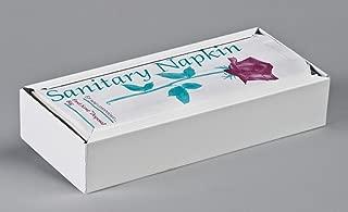 Sanitary Napkin Disposal Bag DISPENSER, White Metal, for 4