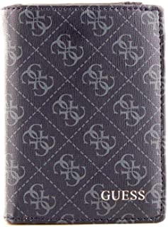 Luxury Fashion | Guess Mens SM2637LEA22NAVY Blue Wallet | Fall Winter 19