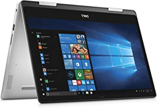 "Dell Inspiron 2-in-1 Laptop LED-Backlit Touch Display, i7-8565U, 8GB 2666MHz DDR4, 256 GB m.2 PCIe SSD, 14"", Silver, Alexa..."