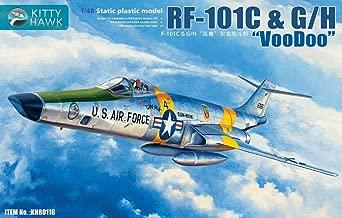 Kitty Hawk KH80116 1:48 RF-101C & G/H Voodoo Static Plastic Model