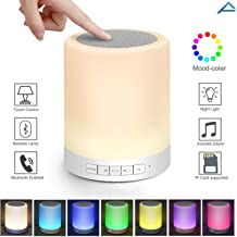 Coolmobiz Wireless Portable Bluetooth Speaker with Smart Touch LED Mood Lamp, Pen Drive, SD Card, AUX and Mic. for Android/iOS/Windows & All Bluetooth Devices.