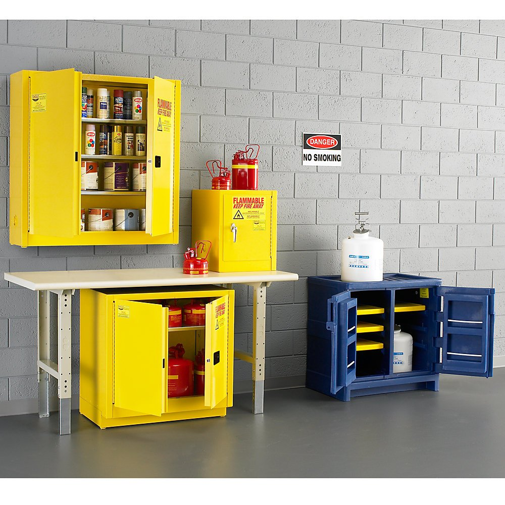 Eagle 1976-RED Safety Cabinet New product type for Flammable Ranking TOP5 Door Manu 2 Liquids
