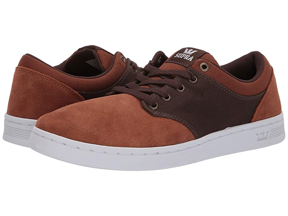 Supra Chino Court (Brown/Demitasse/White) Men