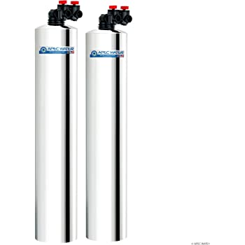 APEC Water Systems WH-SOLUTION-15 Whole House Filter & Salt Free Water Softener Systems for 3-6 Bathrooms