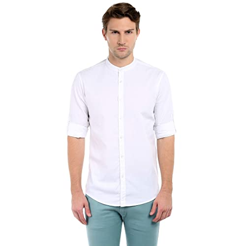 8c4bf343d Chinese Collar Shirts: Buy Chinese Collar Shirts Online at Best ...