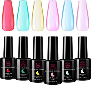 Best jelly color nail polish Reviews