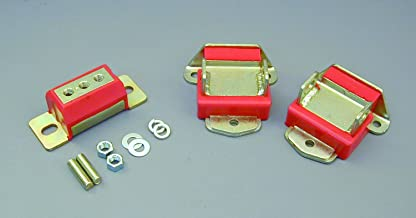Prothane 7-1901 Red Motor and Transmission Mount Kit