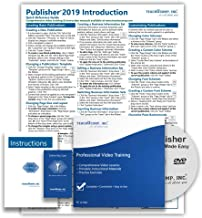 $39 » Microsoft Publisher 2019 DELUXE Training Tutorial Course- Video Lessons, PDF Instruction Manual, Printed and Laminated Quick Reference Guide, Testing Materials, and Certificate of Completion