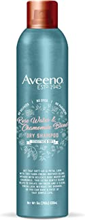 Aveeno Rose Water and Chamomile Gentle Dry Shampoo, 5 Ounce