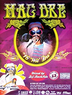 Mac Dre 16 Wit Dre Poster