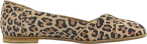 Desert Tan Leopard Print Suede