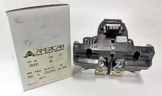 2B200 - 200 AMP FEDERAL PACIFIC MAIN BREAKER