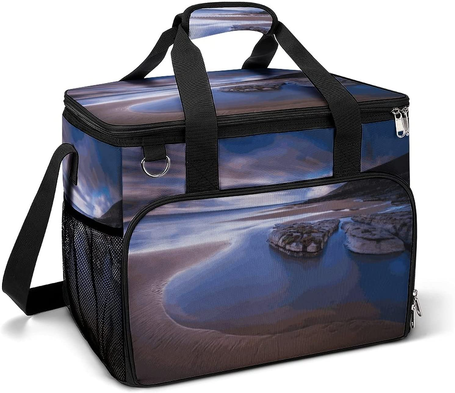 Cooler Ice Bag Beautifully Textured online shopping Rock Portable Custom Pattern Shipping included