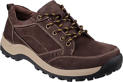 Cotswold Mens Nailsworth Nubuck Leather Walking zapatos