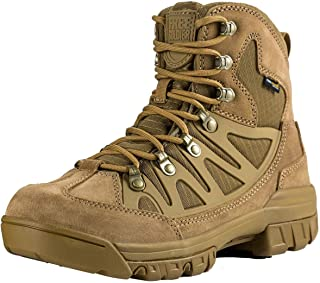Outdoor Men's Tactical Military Combat Ankle Boots Water Resistant Lightweight Mid Hiking Boots