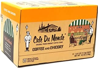 Cafe Du Monde Coffee and Chicory Single-Serve Cup Pods, 12 Count
