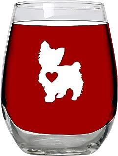 Best yorkie wine glasses Reviews