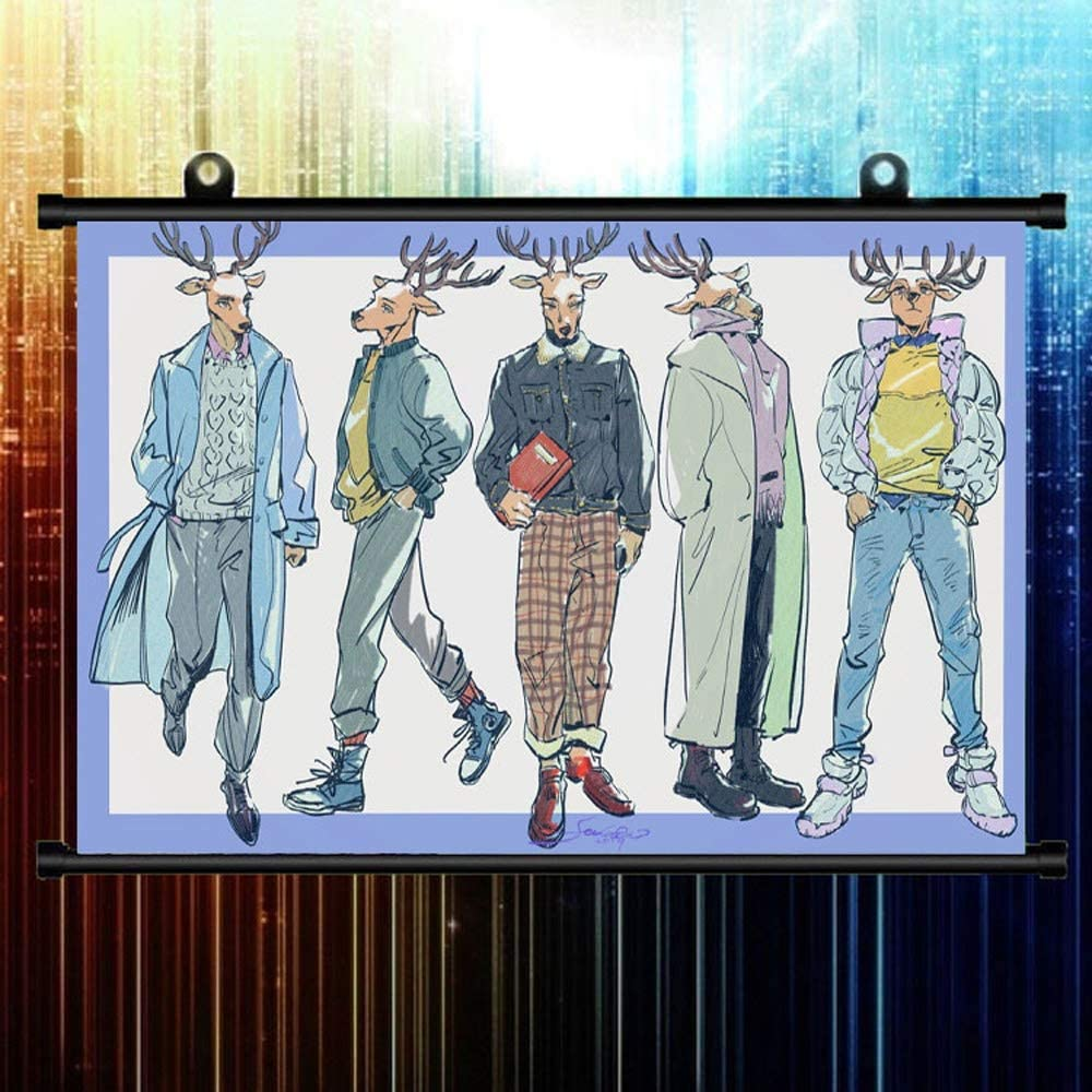 KaiWenLi BEASTARS Series Louis in Different Dresses Pattern 4 NEW years warranty Anim