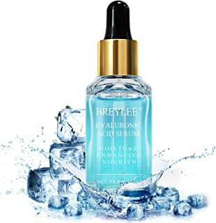 Hyaluronic Acid Serum, BREYLEE Moisturizing Face Serum Natural Facial Serum for Enhancing Nourishing Hydrating Face Skin C...