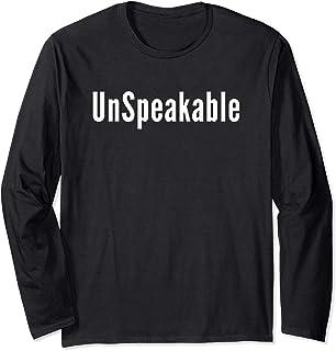 Un Speakable Long Sleeve Shirt Merch Fans Teens