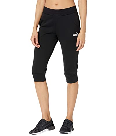 PUMA Essentials Capri Sweatpants (PUMA Black) Women