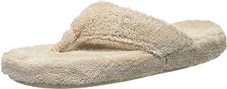 Acorn Men's Women's Spa Thong with Premium Memory Foam