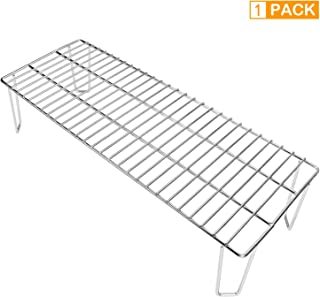 Grisun 6008 Stainless Steel Upper Rack, Warming Rack for Green Mountain Grills Rack Accessories Daniel Boone Pellet Grill ...