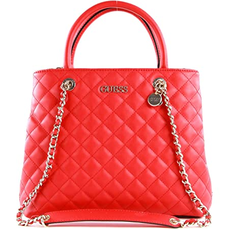 Guess Illy Society Satchel Red
