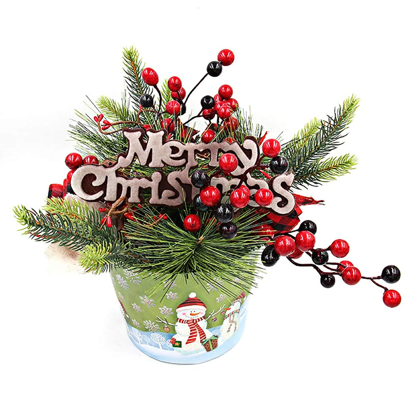 夕食を食べるとは異なり課税(フェイスコジー) Facecozy クリスマスツリー 装飾 クリスマス飾り テーブル ペンダント オーナメントクリスマス インテリア飾り ギフト リスマス雰囲気満載 (クリスマスツリー)
