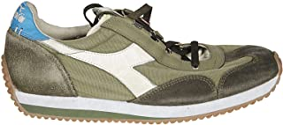 Luxury Fashion | Diadora Men 20117473670431 Green Suede Sneakers | Spring-summer 20