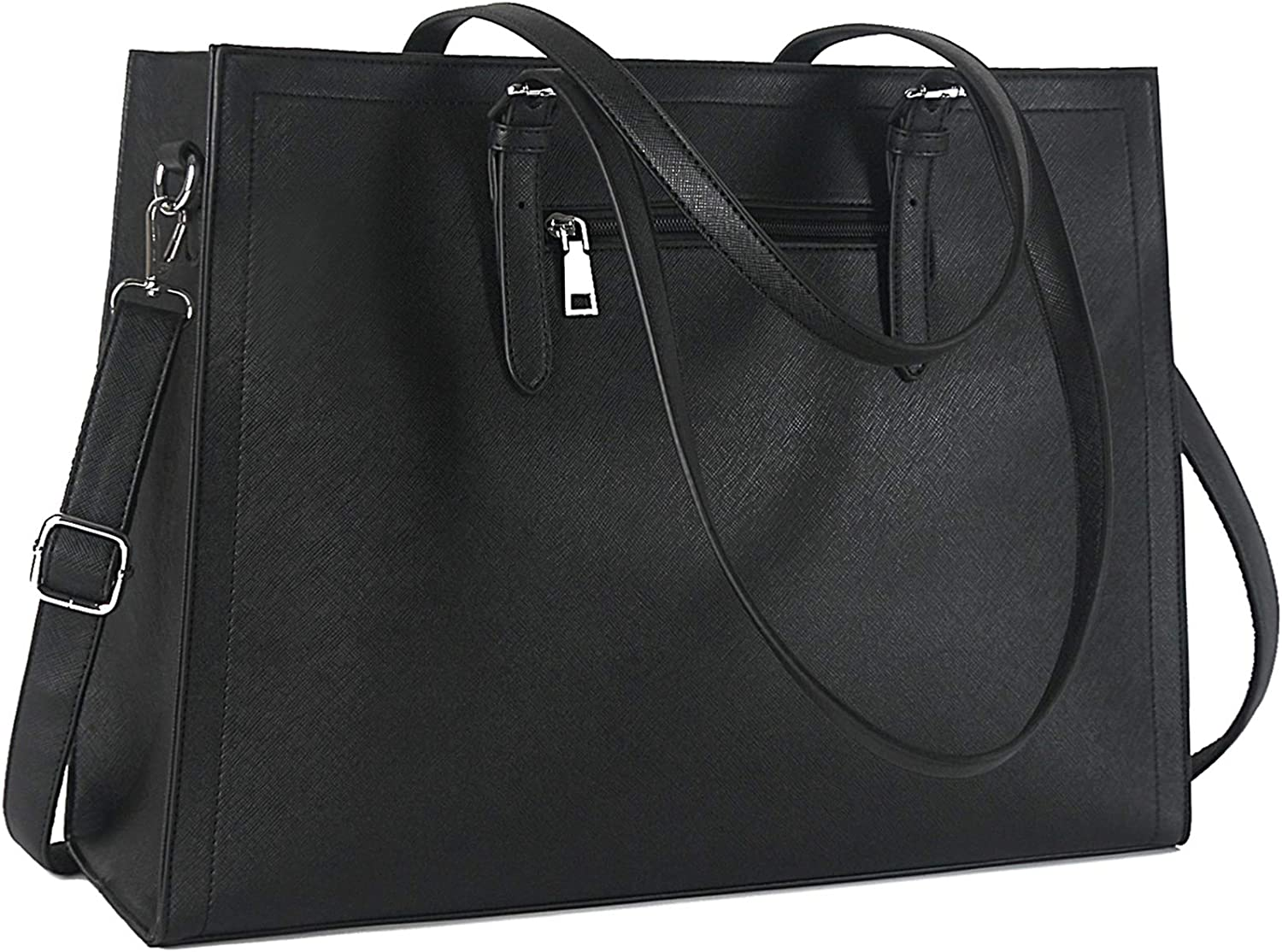 Laptop Bag for Women Complete Free Shipping Cheap mail order sales 15.6 Leather Offic Computer Inch Classy