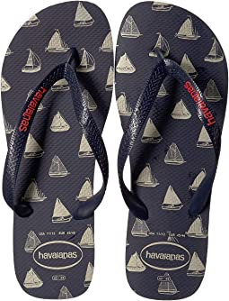 eb87a6ed6291 Havaianas fun flip flops navy blue yellow