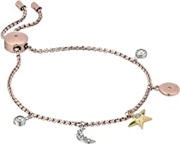Michael Kors Brilliance Slider Bracelet with Tri-Tone Celestial-Inspired Charms