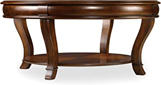 Hooker Furniture Brookhaven Round Cocktail Table in Clear Cherry