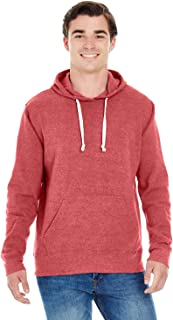 Mens Triblend Pullover Fleece Hood (JA8871)