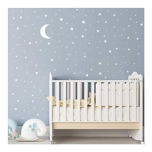 Stars And Moon Nursery Decor Amazon Com