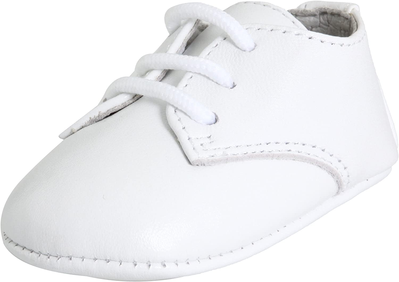 Baby Deer Unisex-Child Lambskin Oxford Crib Shoe