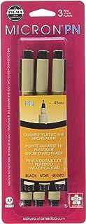 أقلام كيغما مايكرون بي إن من ساكورا، 45 مم، 3 عبوات
