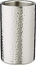 Fink Kalas champagnekoeler/wijnkoeler, roestvrij staal, zilver, 19 x 11,5 x 19 cm