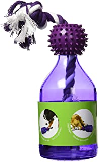 PetSafe Busy Buddy Tug-A-Jug M/L and Interactive Meal Dispensing Dog Toy, Purple, Medium/Large