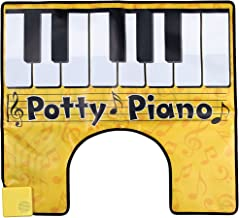Johnson Smith Co. Potty Piano Bathroom Fun Toe Tapping Musical Keyboard Vinyl Toilet Floor Mat