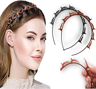 TRUESHOP Headband Clip for Girl and Lady , Multistyle hairband With Clip, Hair Twister Band for hair styling , headwrap Ba...