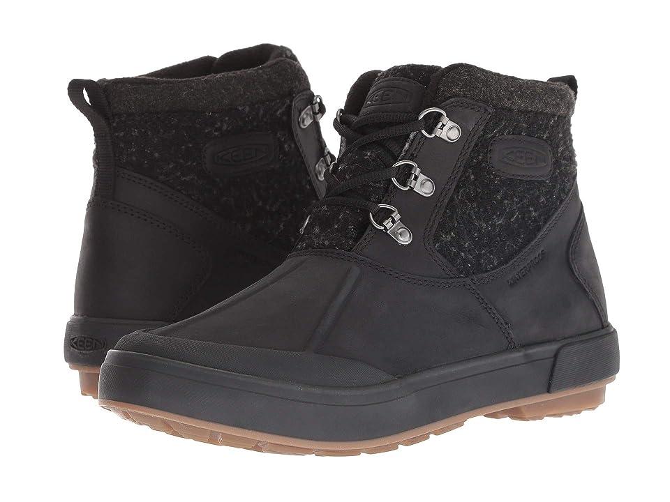 Keen Elsa II Ankle Wool Waterproof (Black/Raven) Women