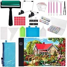 A4 Diamond Painting Led Light Pad Kits,Portable Led Tracing Light Board,A4 Diamond Painting Pads,Diy Dimmable Light Bright...
