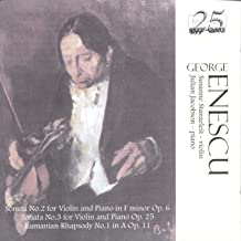 George Enescu: Music for Violin and Piano