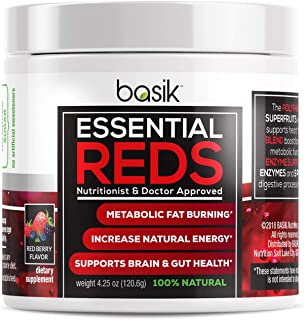 Basik Essential Reds Polyphenol Superfood Supplement
