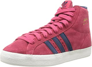 adidas Originals Basket Profi Womens Trainers/Hi Tops - Red